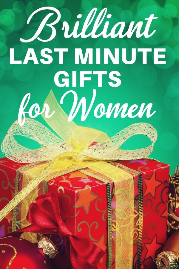 Brilliant Last Minute Gift Ideas For Her She Ll Never Know You Waited Last Minute Birthday Gifts Last Minute Christmas Gifts Christmas Gifts