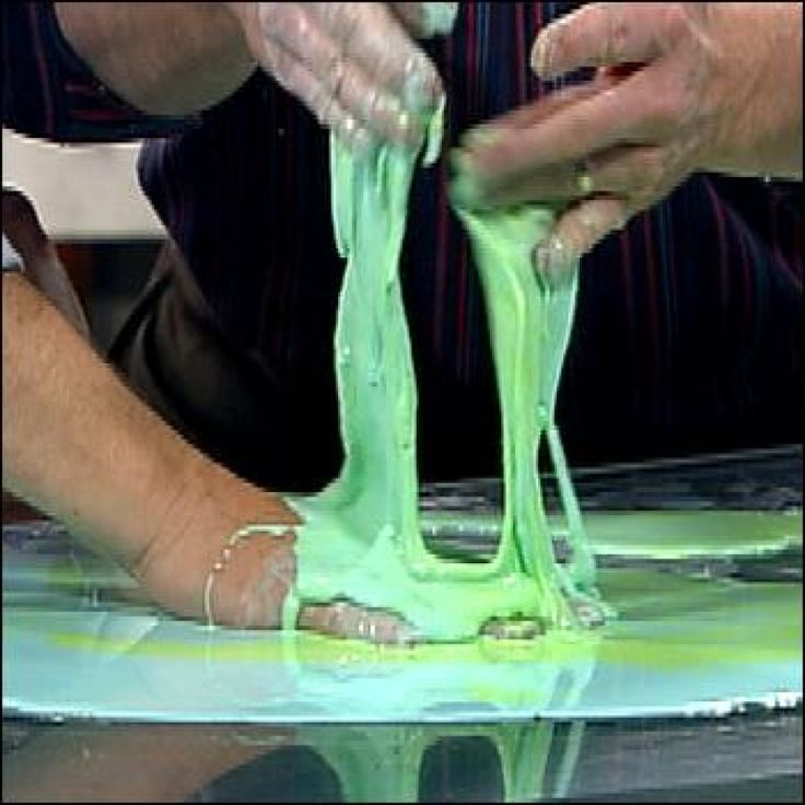 Cornstarch Science Quicksand Goo Experiments Steve