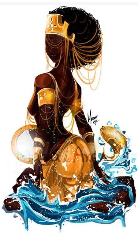 YEMAYA – African Goddess (Orisha) of the Ocean