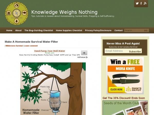 homemade survival water filter. Make A Hillbilly Water Filter From Trash | Preparedness Pinterest Filters, And Storage Homemade Survival
