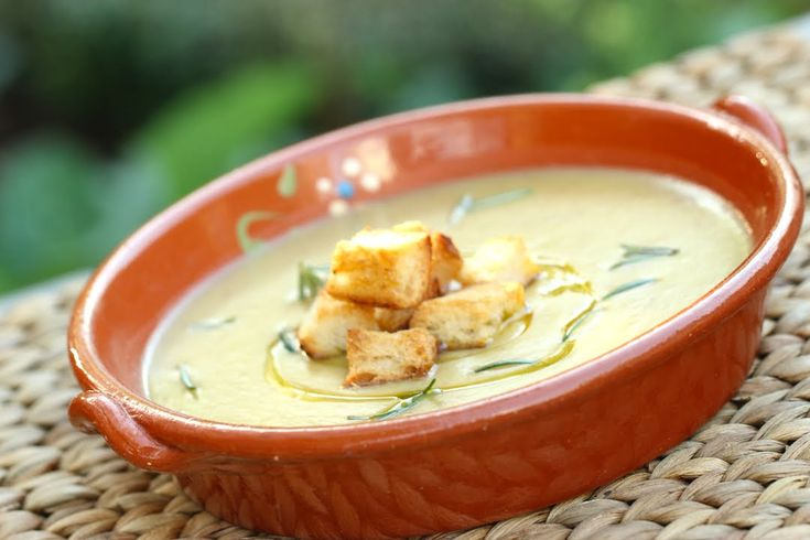 Beth's Potato Soup and Rosemary Rceipe | IN BETH'S GARDEN