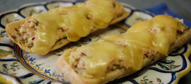 Tuna melt sandwich; een heerlijke Amerikaanse uitvinding