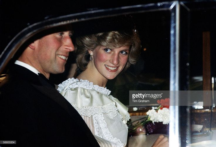 News Photo : Princess Diana, Princess of Wales and Prince...