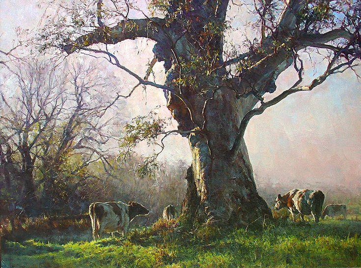 Winter Morning Kangarilla, 82cm x 110cm, by John McCartin