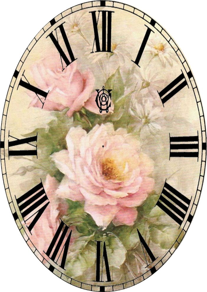 Miniature Printables - Clock face.