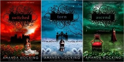 Loved this trilogy.  I was sad when book three ended.  Supernatural elements, trolls, etc. but the supernatural doesn't overpower the storyline.  Great books!
