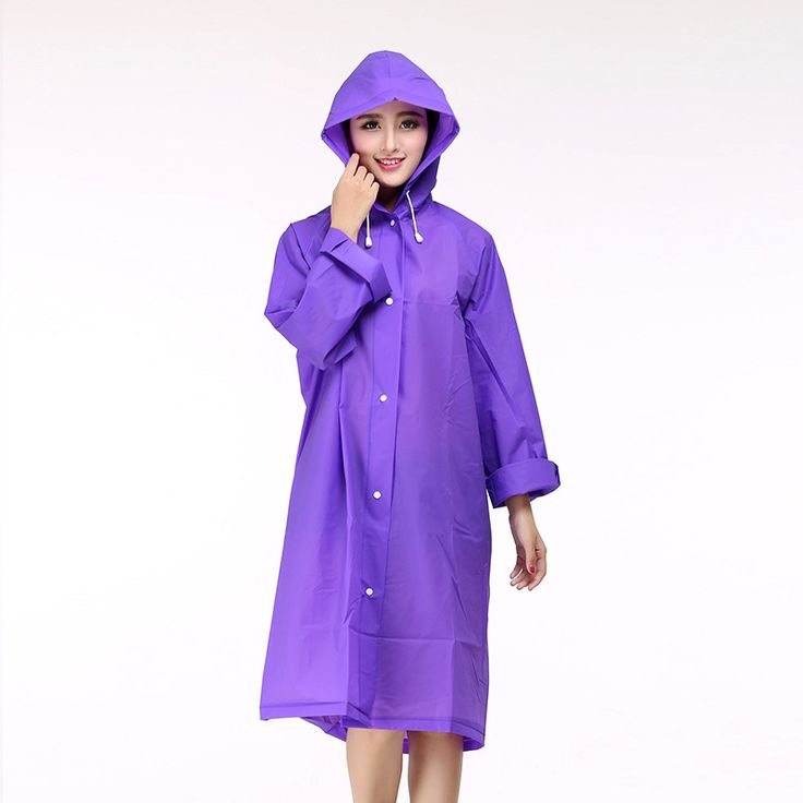 Adult Women Korean Fashion Rainwear Portable EVA Raincoat quick-dry Poncho Outdoor Hiking Cloak Female 8 Colors Free shipping