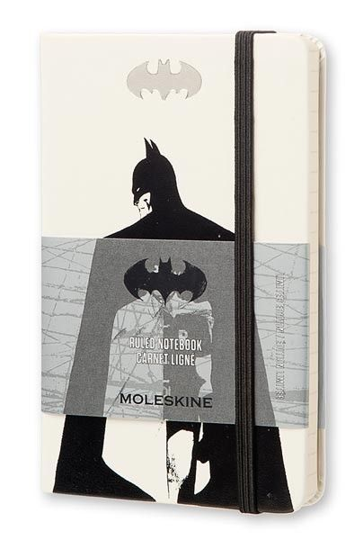 Джобен бял тефтер Moleskine Batman на топ цена — Orange Center