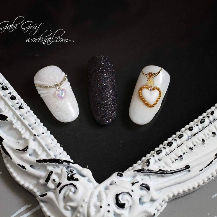White nails for brides, and the black one for everyone everytime. Follow me on Facebook: www.facebook.com/worknail/ And on Twitter, too: twitter.com/worknail