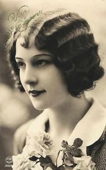 Marcel waves from the 1920s and 30s: like finger waves but less time consuming and more permanent. Marcel waves were simply the same look as finger waves, but were created using curling tongs.