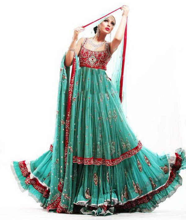 33 best Pakistani Walima Bridal Dresses 2014 images on Pinterest ...