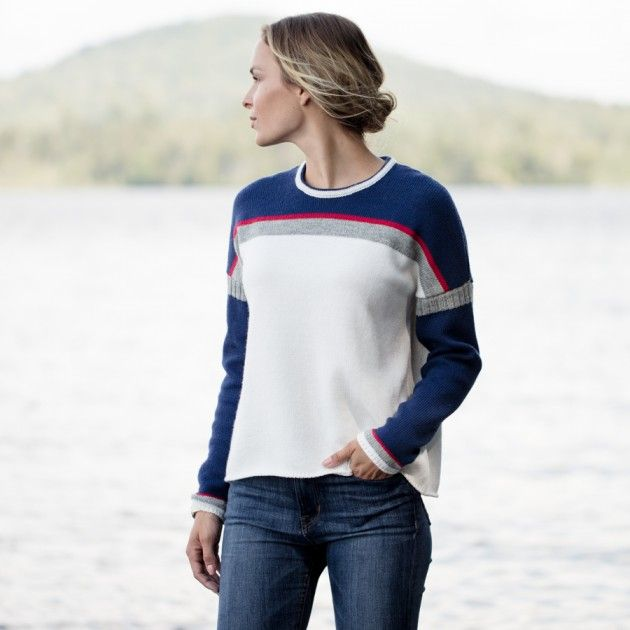 Women's 1967 Lake Placid Downhill Ski Sweaters | Guideboat Company