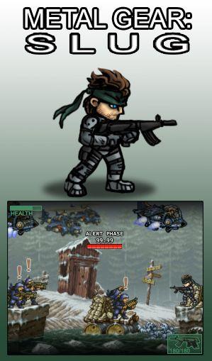 Metal Gear Slug by AIBryce