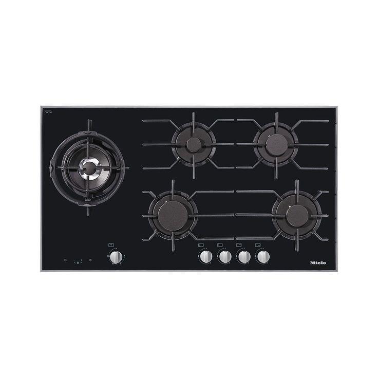 94.2 cm wide, 5 burners including off-set high-output dual wok burner…