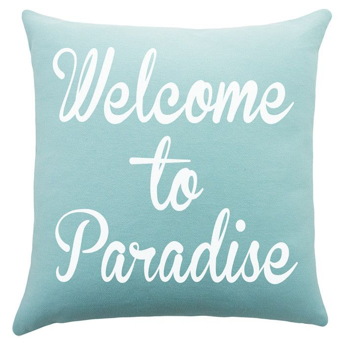 Welcome to #Paradise Pillow