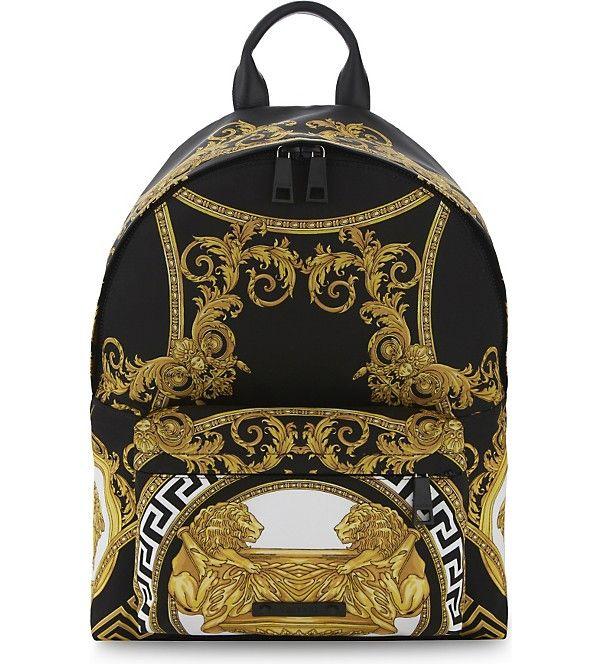 VERSACE - Baroque backpack | Selfridges.com