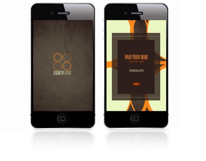 Eighty Eight /app design - natarcita