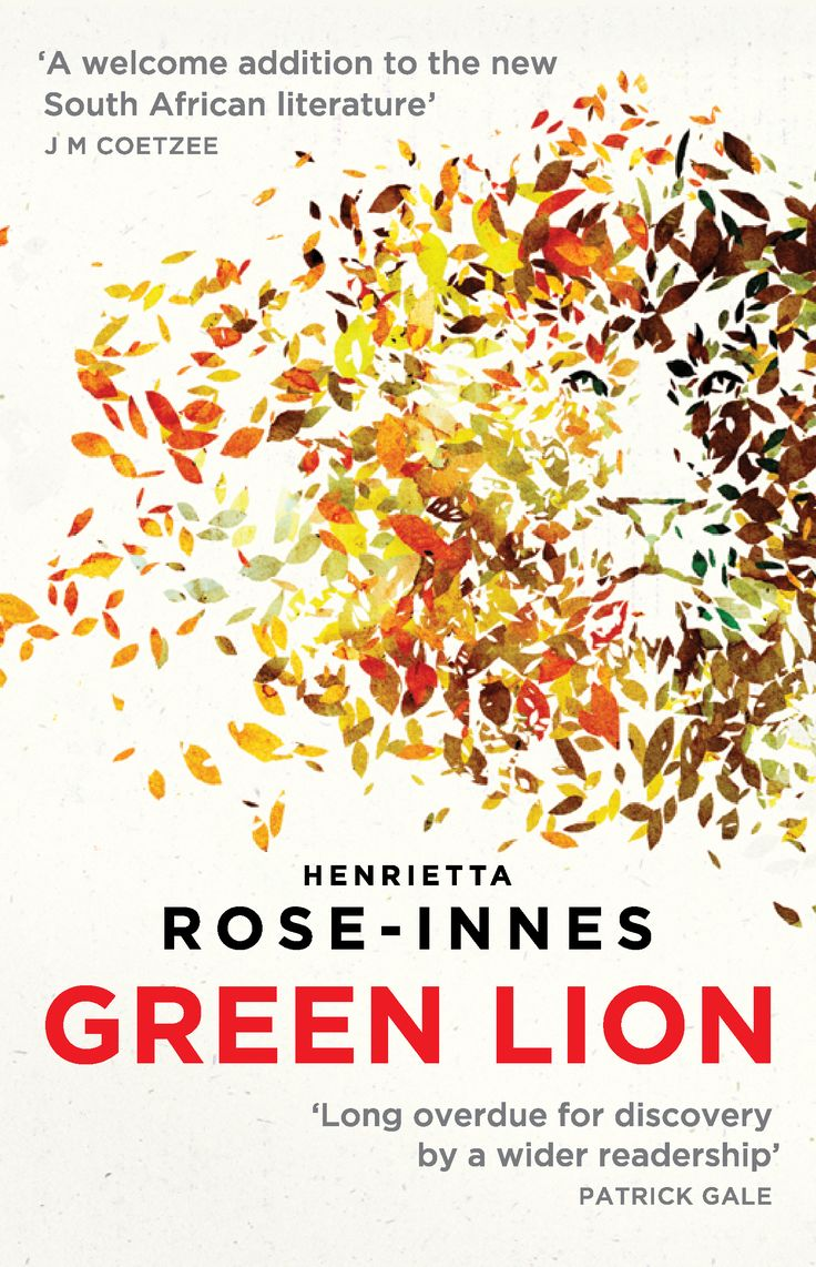 The beautiful cover of Green Lion was shared by Umuzi Editions in South Africa.