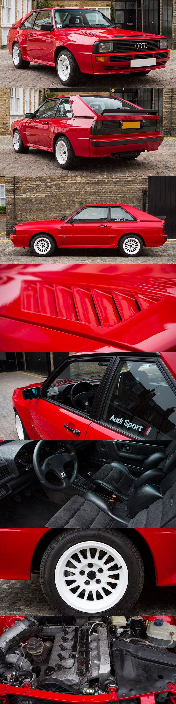 1984 Audi Sport Quattro / Germany / Group B homologation / rallye / 302hp / red white / 16-71