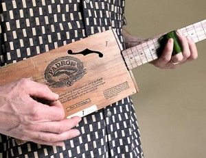 Handmade Cigar Box Guitar