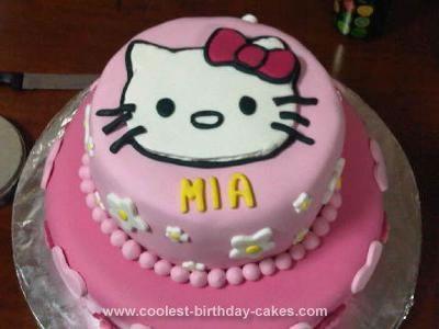 100 besten Hello Kitty Cake Ideas Bilder auf Pinterest 3