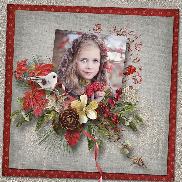 Winter Garden - Collection by Alexis Design Studio  http://www.thedigichick.com/shop/Winter-Garden-Collection.html save 65% RAK pro Markétu Popelkovou