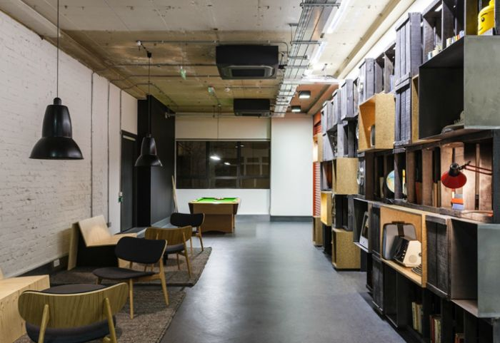 Google's London Coworking Space: Google Campus, Campus London, Interiors Design, Co Work Spaces, London Coworking, Google London, Coworking Spaces, Google Offices, Coworking Work