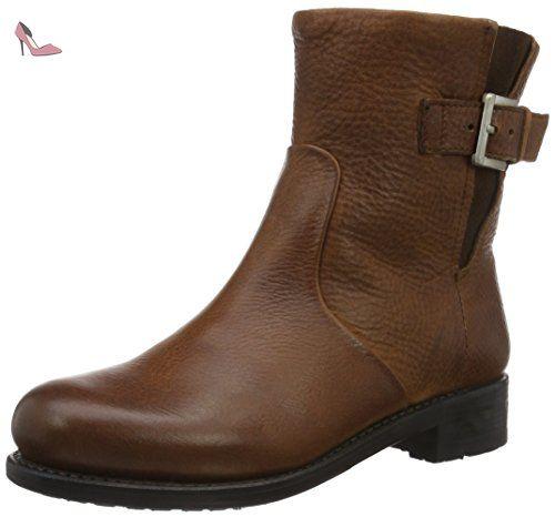 Blackstone  MW63, Bottes mi-hauteur avec doublure chaude femme - Marron - Braun (Old Yellow), 36 EU - Chaussures blackstone (*Partner-Link)