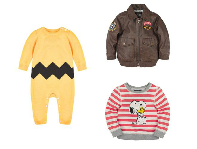 Charlie Brown onesie from BabyGAP × PEANUTS Capsule Collection | GAPとピーナッツがコラボ発表