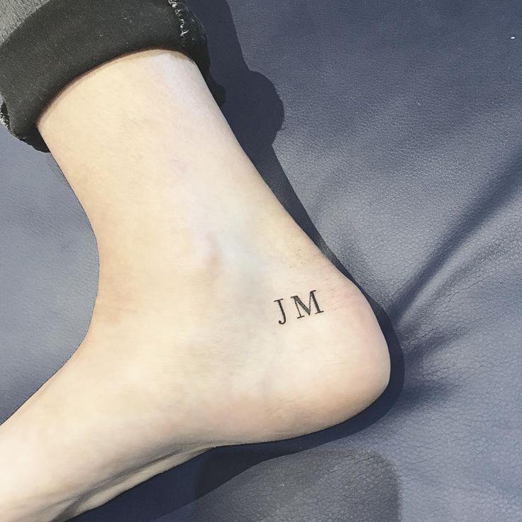 Tatuajes con iniciales que puedes hacerte con tu pareja
