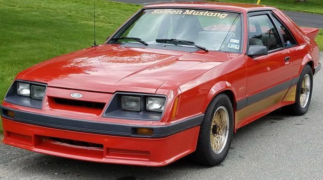 80s Epitomized: 1986 Ford Mustang Saleen #USA #American, #Ford, #Saleen, #Survivors - http://barnfinds.com/80s-epitomized-1986-ford-mustang-saleen/
