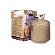 F50 Helium Tank - Large Disposable Helium Gas Cylinder