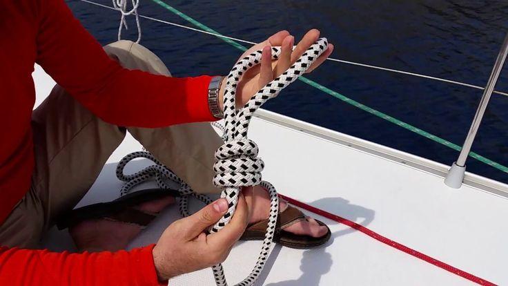 Csomó kötés / Tanfolyam és gyakorló vitorlástúra / Ocean Sailing SE (oce...