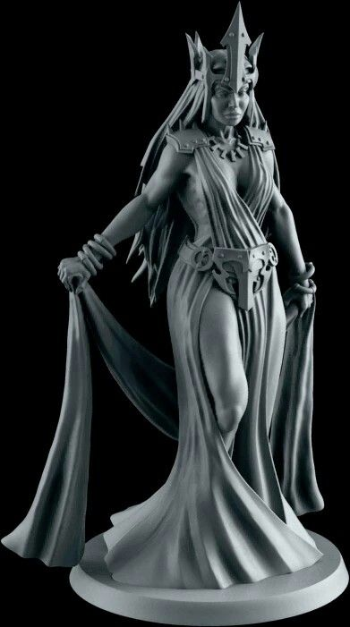 Persephone. Sculpted by Aragorn Marks