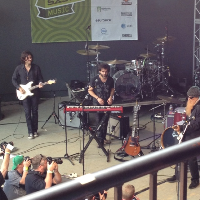 I was at Rach's amazing event, Feedback, at South by Southwest 2011. That's her husband, John Cusimano, on keyboards. And, um, yes that IS Billy Gibbons of ZZ Top on the right.