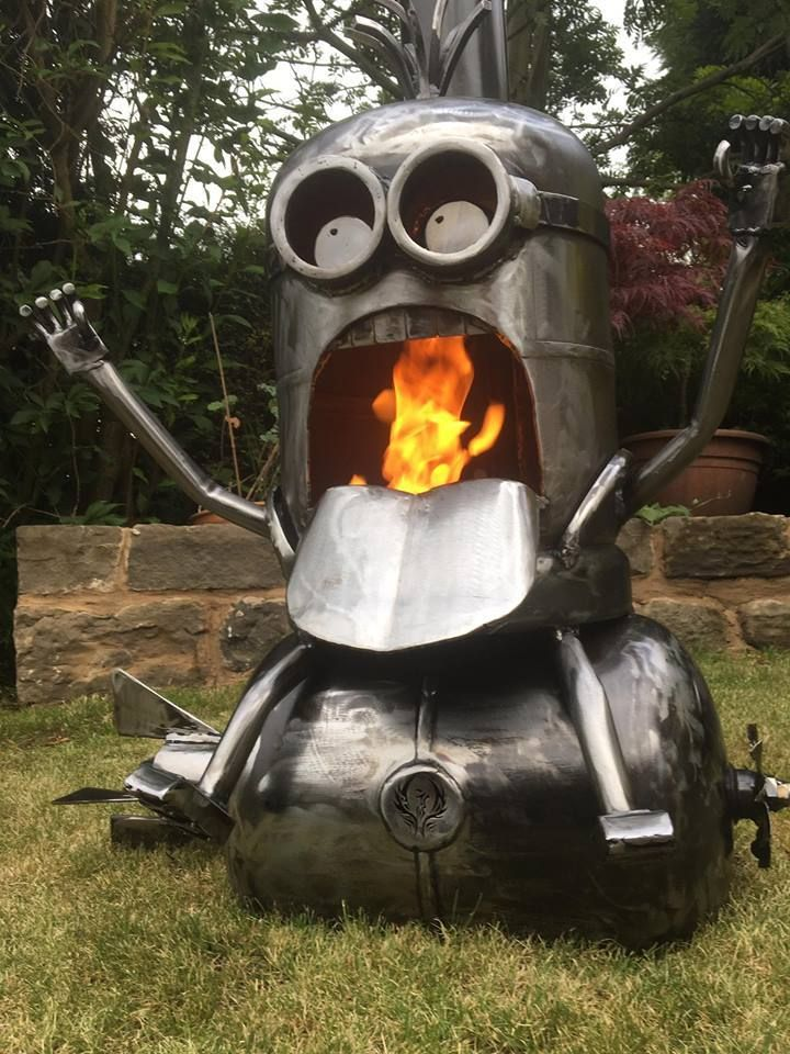 Amazing Outdoor Wood Burners