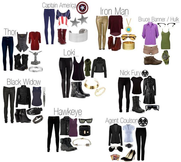 Captain America, Iron Man, Bruce Banner(Hulk), Nick Fury, Agent Coulson, Hawkeye, Black Widow, Thor & Loki