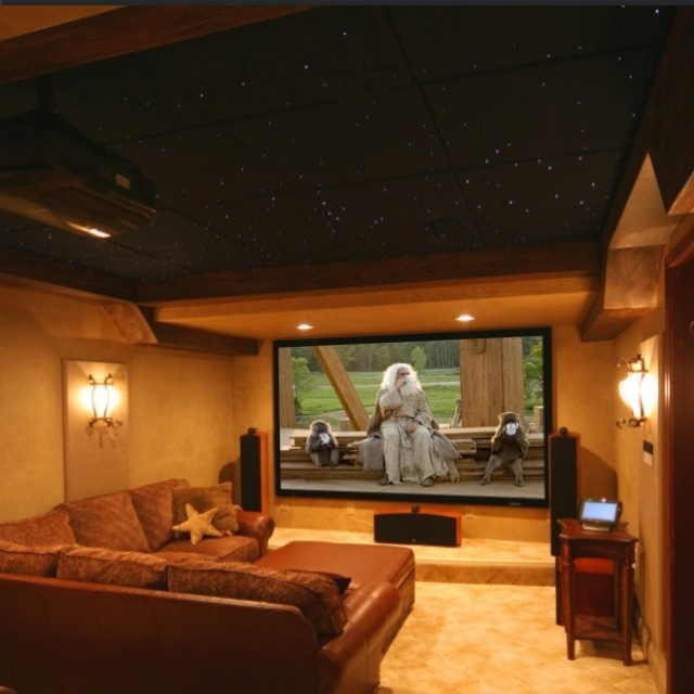 Home Theater Design I Love This Theater With The: At Home Movie Theater