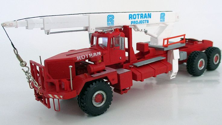 Kenworth W953 Truck Mounted Crane - By Jan Romijn
