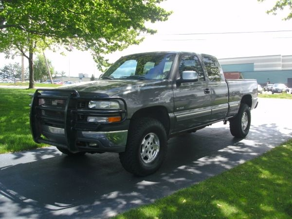 1999 Chevy Silverado 1500  Dark Grey - LT Z71