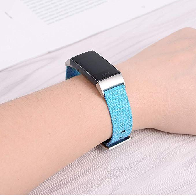 AmazonSmile: Karei Woven Bands Compatible with Fitbit Charge