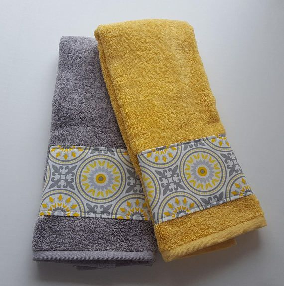 Brilliant Bathroom Towels Decorative Towels Grey And Yellow Towels Download Free Architecture Designs Estepponolmadebymaigaardcom