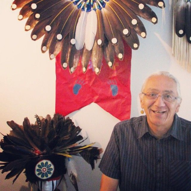 Russell Noganosh a Kitigan artist does an in depth interview with Ottawa Life Mag. http://www.ottawalife.com/2014/10/the-art-of-russell-noganosh/ #ottawa #magazine #ottawalife #life #kitigan #art #aboriginal #canada