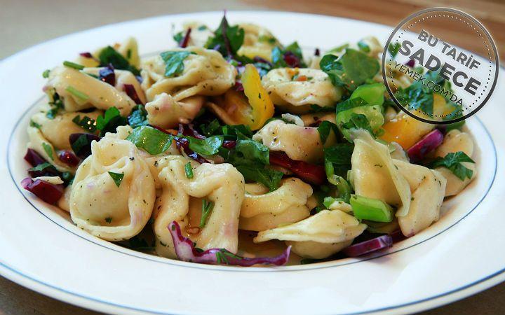 Namlı Gurme'den Tortellini Makarna Salatası Tarifi