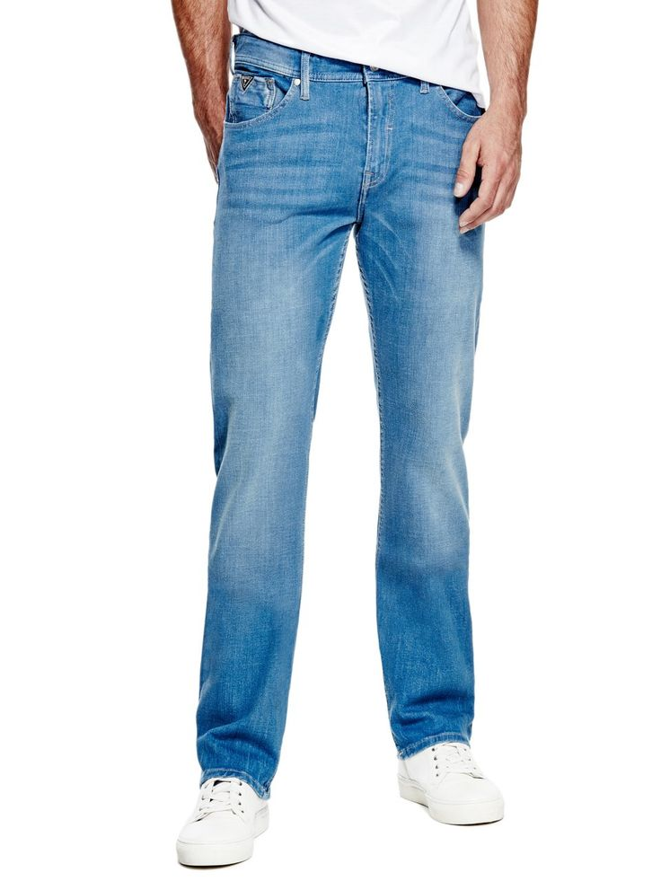 Regular Straight Max Stretch Jeans