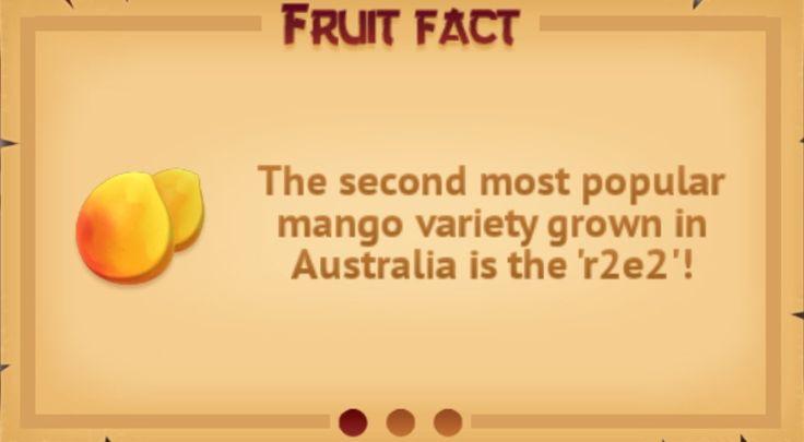 Fruit fact #1