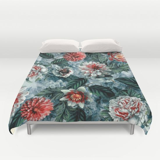Check out society6curated.com for more! @society6 #floral #flowers #pattern #home #decor #comforter #duvet #covers #homedecor #sleep #nighttime #bed #bedding #bedroom #apartment #apartmentgoals #sophomore #year #college #student #dorm #buy #shop #shopping #sale #art #awesome #sweet #cool #botanical #white #green #red