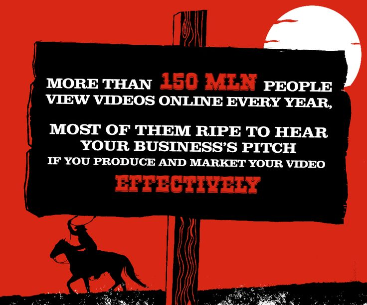 More than 150 million people view videos online every year, most of them ripe to hear your business's pitch if you produce and market your video effectively. Animation Cowboy Studious..