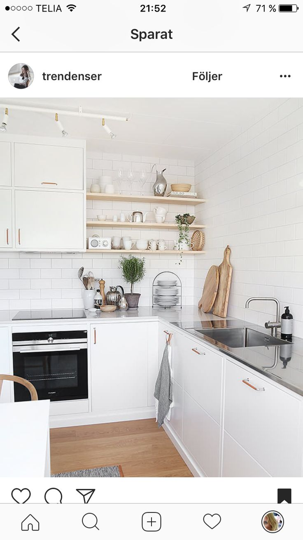 51 best Kök images on Pinterest   White kitchens, Colors and ...