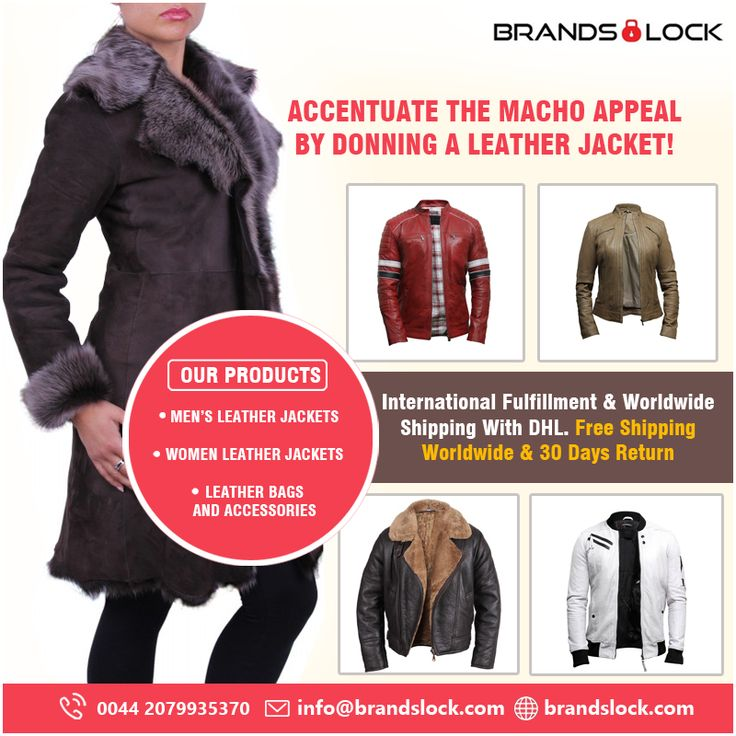 In order to meet your requirements, these men's designer leather jackets are offered in a large number of sizes, designs, colours and fittings. http://brandslock.com/
